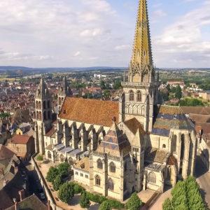 Cathédrale d'Autun © La-ville-dAutun