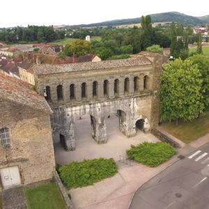 Porte Saint André©La ville d'Autun