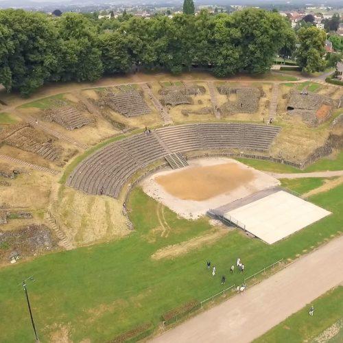 Théâtre romains©La ville d'Autun
